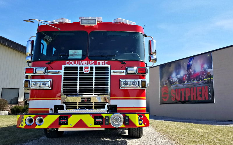 Columbus Division of Fire Sutphen
