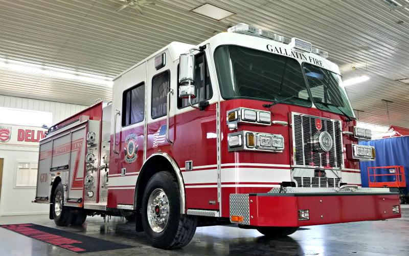Custom Pumper – Elkhart Fire Department, IN – Sutphen