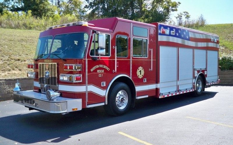 Storage manufacture rescue vehicles