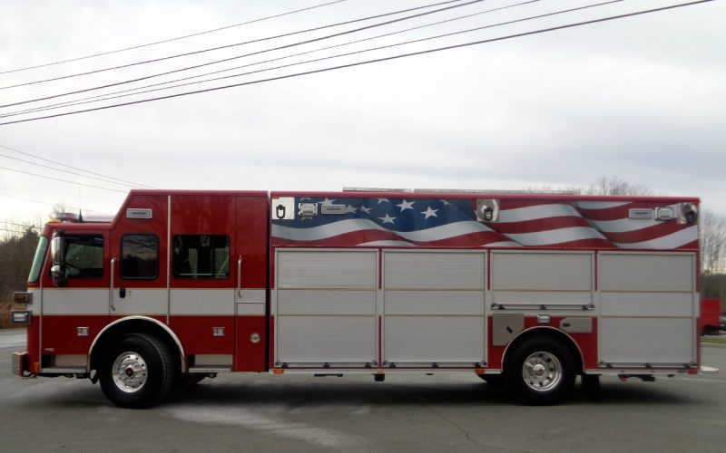 Heavy Rescue Pinewald Pioneer Fire Company Nj Sutphen