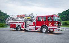 SP70 Aerial Platform Fire Truck